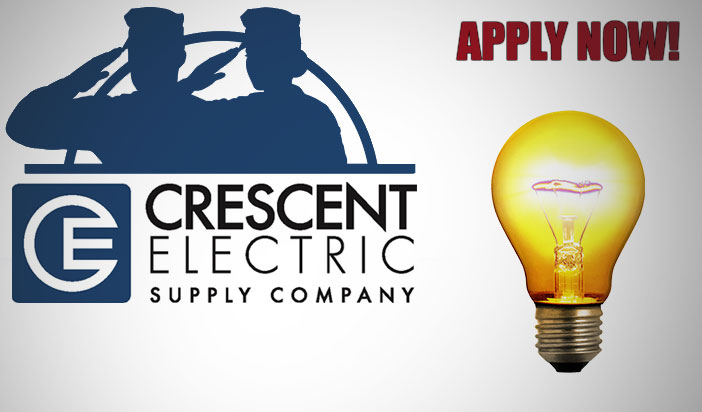 Crescent Electric Supply Joins HireVeterans.com